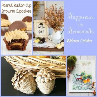 Happiness is Homemade Linky Party 191!
