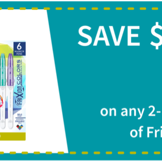 Target: Save FriXion Erasable ColorSticks!