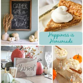 Welcome to this week's Happiness is Homemade Linky Party #192!