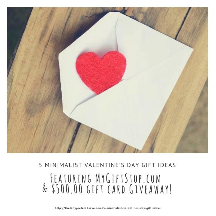 5 Minimalist Valentine S Day Gift Ideas