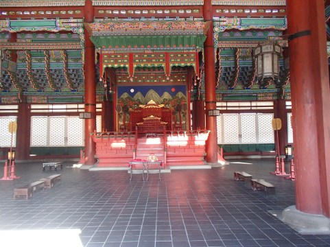A look inside Gyeongbok Palace
