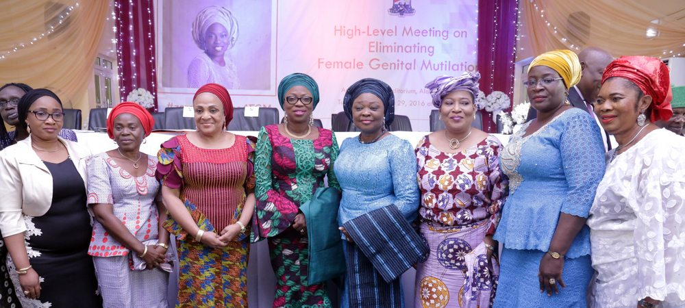 PHOTO NEWS: Ambode's wife, others meet on eliminating female genital mutilation