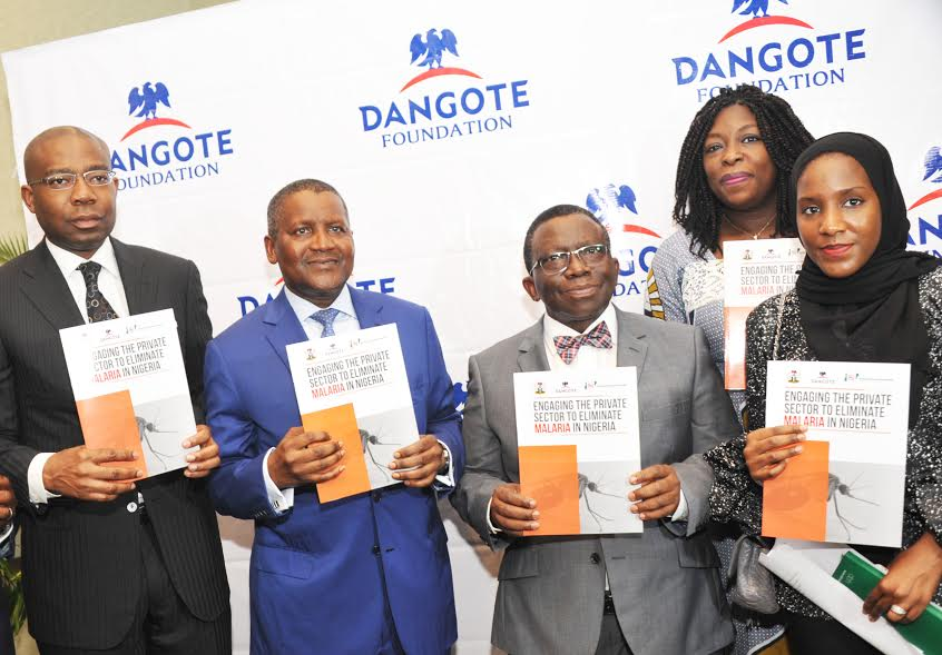 PHOTO NEWS: Dangote Foundation launches strategy document on malaria eradication