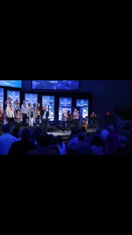Caleb Leading Worship