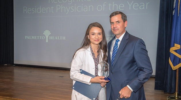Stephanie Le named Resident Physician of the Year
