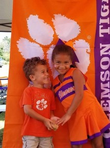 Clemson prize pack winner Megan Johnson_630x350
