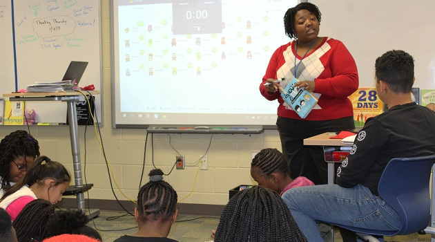 District Five teacher selected for award