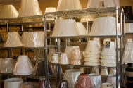 Wide Selection of lamp shades