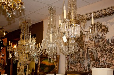 Custom Crystal Chandeliers, Vintage Parts