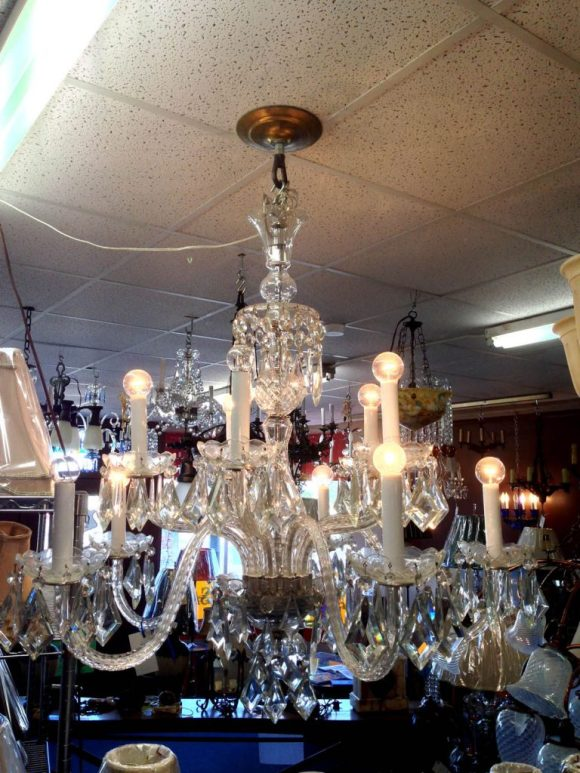 antique-crystal-chandelier