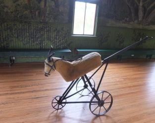 ridable goat