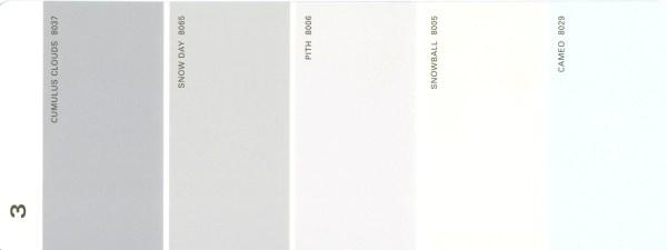 Martha Stewart Paint 5-Color Palette Card #03
