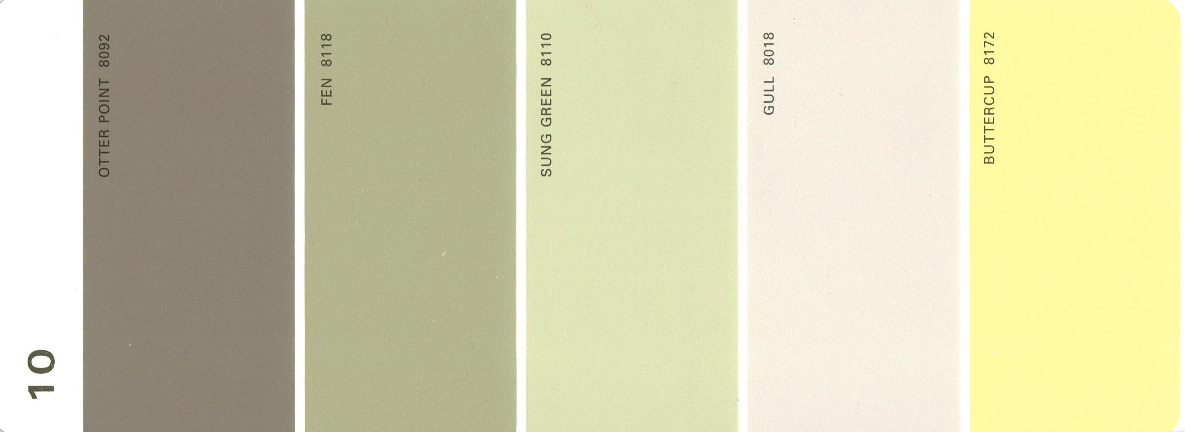Martha Stewart Colors