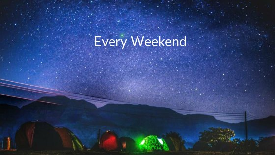 Camping under the twinkling sky: Bhandardara, Maharashtra