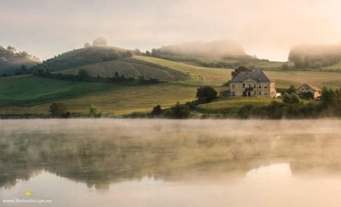 Perniško jezero, jutro