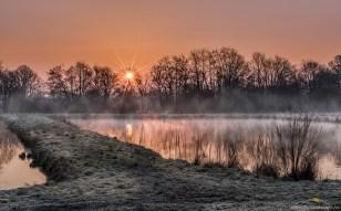 Rački ribniki, zjutraj