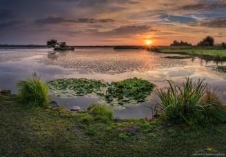Sestržko jezero, sončni vzhod