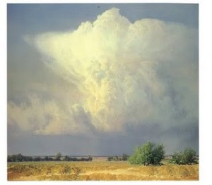 "Summer Thunderstorm 1980 40"" x 44"""