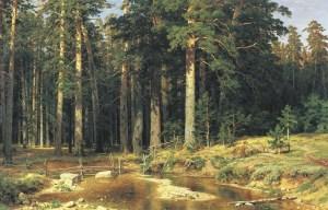 shishkin Mast trees 1898
