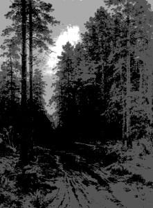 Shishkin forest dusk 4 values