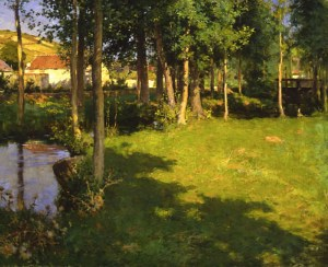 Willard Metcalf Giverny