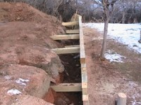 How to Build A Timber Retaining Wall | DIY Sprinkler ...
