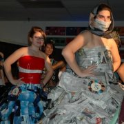 Young At Art Fashion Show Goes From Garbage To Glamour