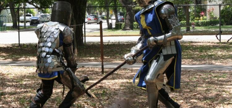 A Knight's Tale: Thornton Davis Reenacts Medieval Swordplay