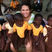 Service Without Borders: Camille Traslavina Helps Children In Africa