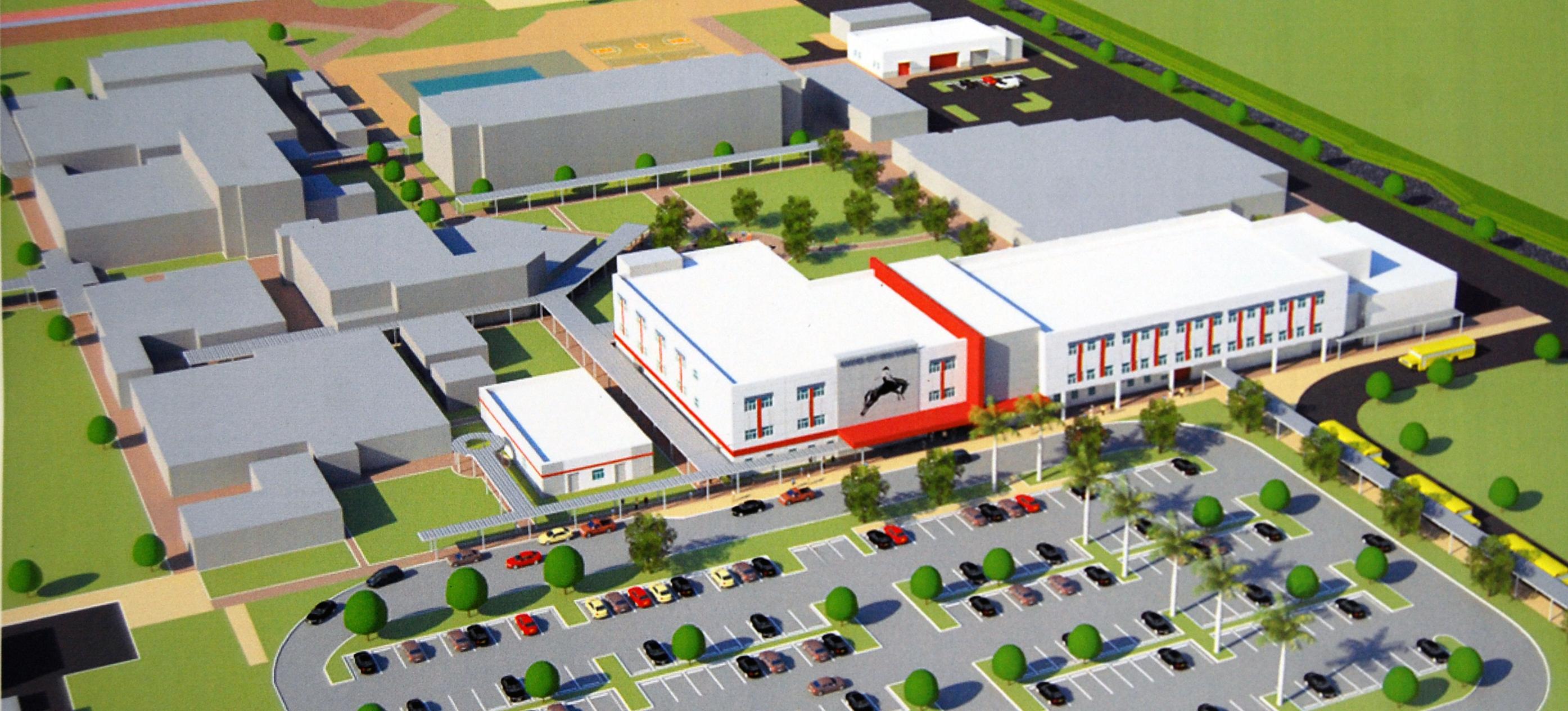 Cchs unveils new construction plans the lariat for New construction plans