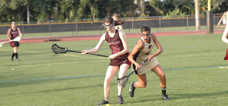 Girls' Lacrosse: Cowboys Have A Tough Time Against Cypress Bay and University School