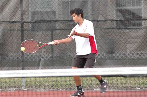 Varsity Tennis: Cowboys Defeat Northeast High
