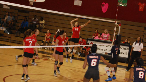 Girls Varsity Volleyball: Hopes To Serve Up Districts This Year