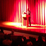 Retired Admiral Stephen Rochon Speaks To CCHS For Black History Month