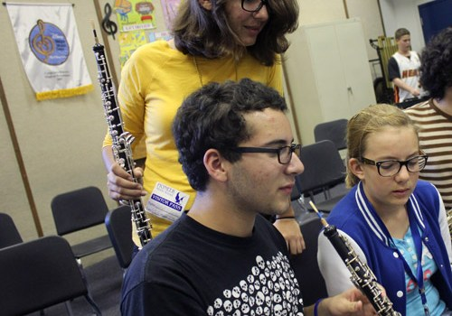 The Sound Of Pride Tutors Pioneer Middle School Band Students