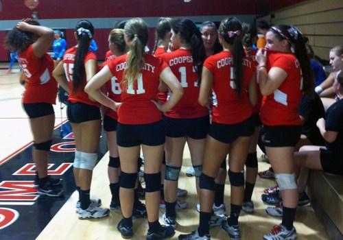Girl's Varsity Volleyball: Cooper City v. West Broward