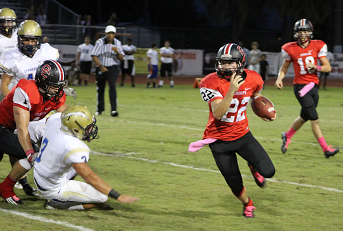 Football: Cowboys Get Shocked By The Lightning