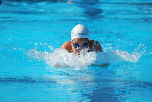Swimming Against The Tide: Freshman Star Fassler Overcomes Pain To Compete