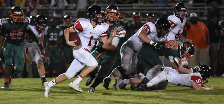 Football: CCHS Sophomore Makes Varsity Debut