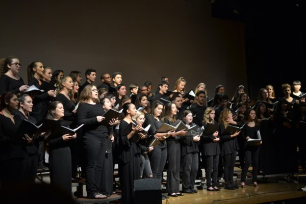 CCHS Chorus Performs The Annual Winter Concert