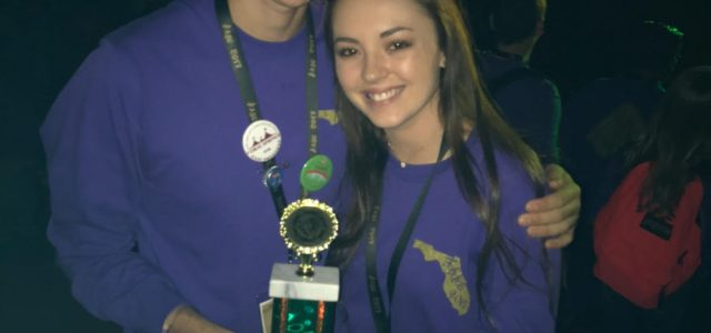 Student Government Association takes home the gold at annual state conference