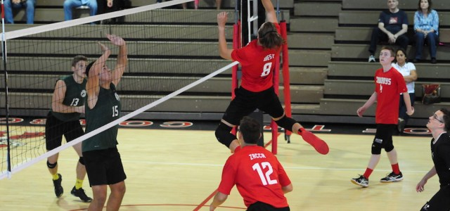 Boys Varsity Volleyball: Cowboys Finish Season With a Win
