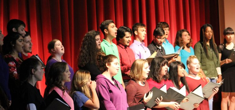 Lights, Camera, Encore! CCHS Sound Of Pride Performs Annual Showcase