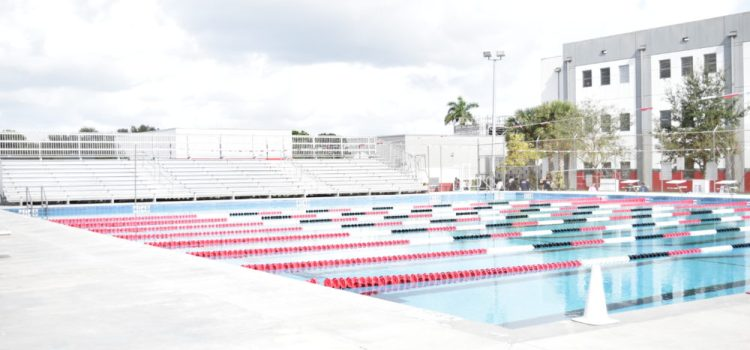 Swimming and Diving: Cooper City vs. Everglades and Western
