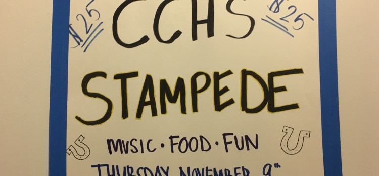 Stampede fundraiser returns to CCHS