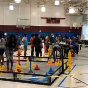 Robotics Team competes against Broward schools