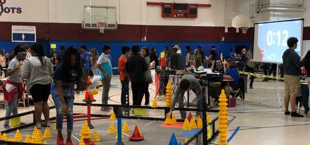 Robotics Team competes against Broward schools