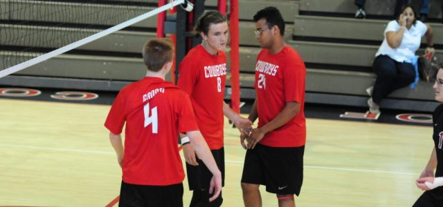 Boys varsity volleyball: Cowboys beat Pinecrest at home