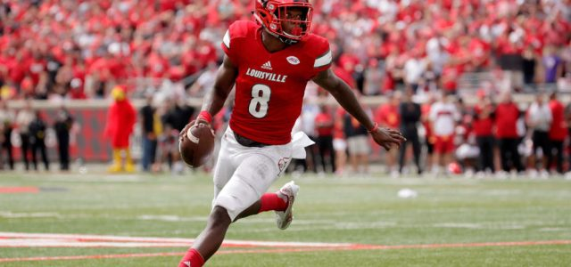 Lamar Jackson is a better fit at QB than WR