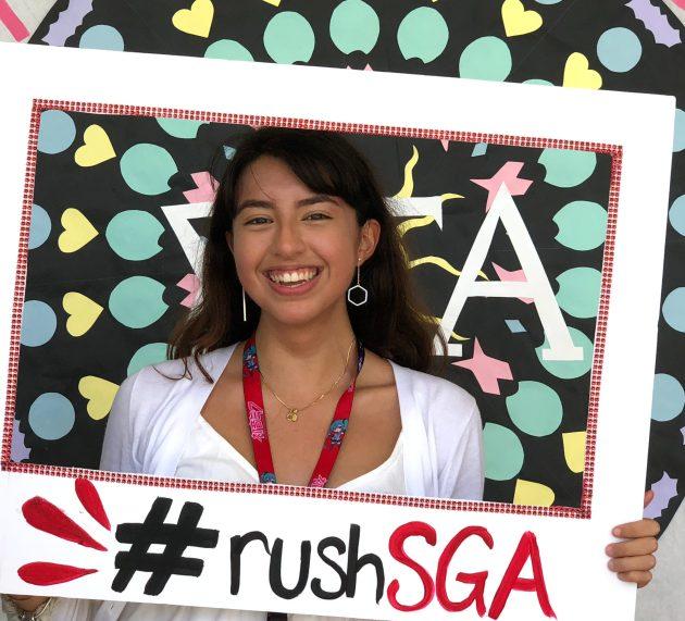 Class VP to SGA President: Hannah Ferguson takes a step forward